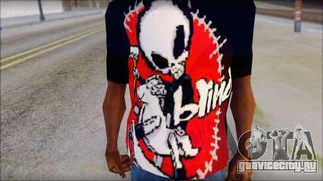 Blind Shirt для GTA San Andreas третий скриншот
