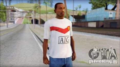Manchester United Shirt для GTA San Andreas