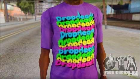 Dropdead T-Shirt для GTA San Andreas третий скриншот