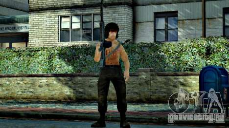Rambo для GTA 4 четвёртый скриншот