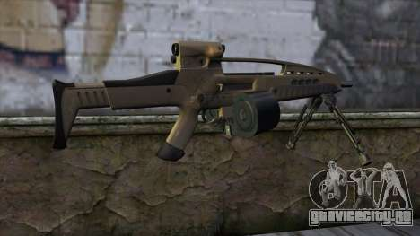 XM8 LMG Dust для GTA San Andreas второй скриншот