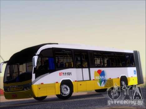 Neobus Mega BRT Volvo B12M-340M для GTA San Andreas вид изнутри
