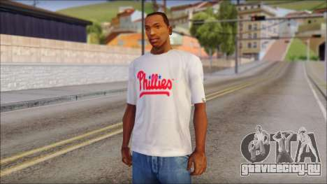 Phillies T-Shirt для GTA San Andreas
