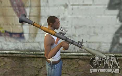 Ракетная Установка AG7 для GTA San Andreas третий скриншот