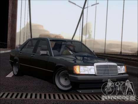 Mercedes Benz 190E Drift V8 для GTA San Andreas вид сбоку