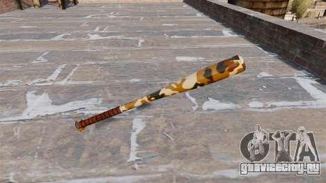 Бейсбольная бита Camo A011 для GTA 4 второй скриншот