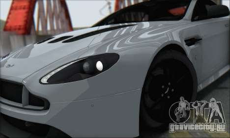 Aston Martin V12 Vantage S 2013 для GTA San Andreas вид справа