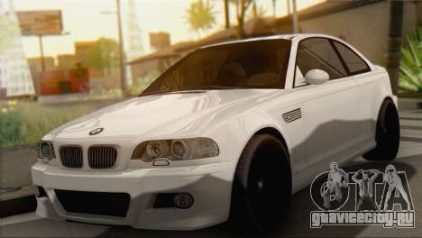 BMW M3 E46 Black Edition для GTA San Andreas