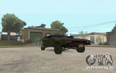 Interceptor для GTA San Andreas вид слева