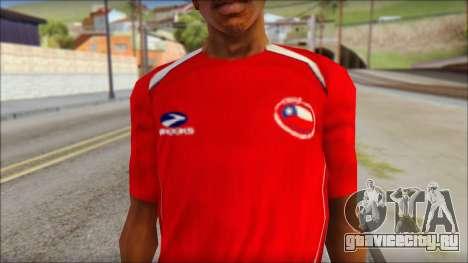 Chile T-Shirt для GTA San Andreas третий скриншот