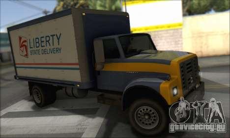 GTA IV Yankee для GTA San Andreas вид сзади слева