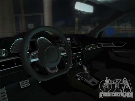 Audi RS6 для GTA Vice City вид справа