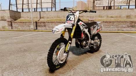 Yamaha YZF-450 v1.15 для GTA 4