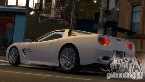 Coquette Racing для GTA 4 вид слева