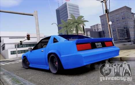 Buffalo Drift Style для GTA San Andreas вид сзади слева