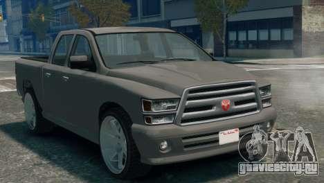 GTA V Bravado Bison для GTA 4 вид сзади слева
