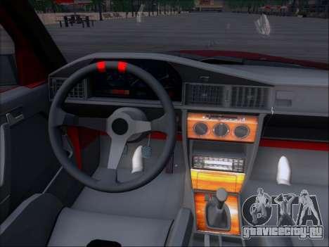 Mercedes Benz 190E Drift V8 для GTA San Andreas вид сверху