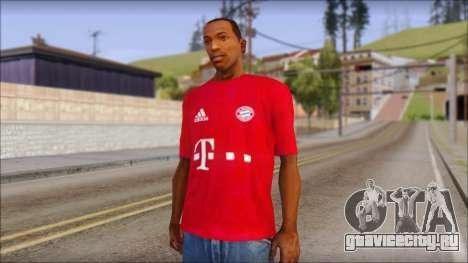 Bayern München 2013 T-Shirt для GTA San Andreas