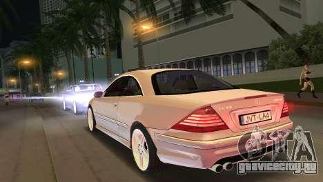Mercedes-Benz CL65 AMG для GTA Vice City вид слева