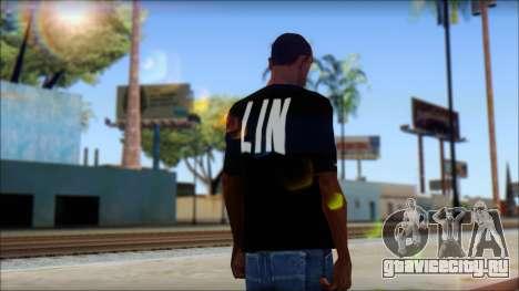 Jeremy Lin BAL-LIN T-Shirt для GTA San Andreas второй скриншот