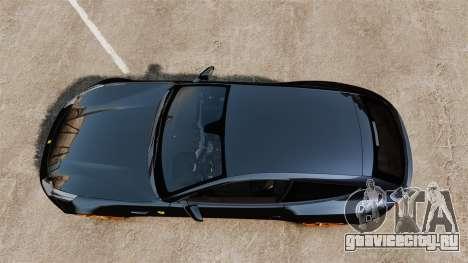 Ferrari FF 2011 для GTA 4 вид справа