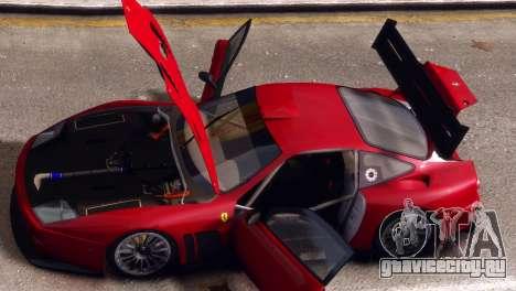Ferrari 575 GTC для GTA 4 вид справа