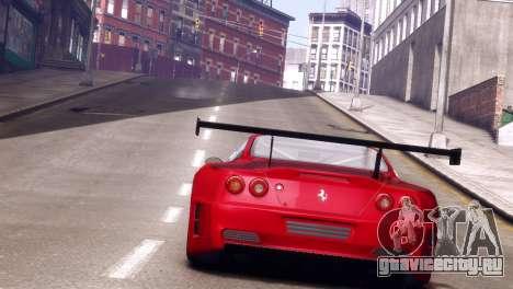 Ferrari 575 GTC для GTA 4 вид сзади слева
