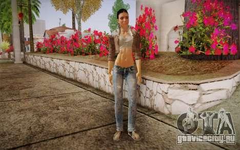 Alyx Vance CM (Adriana Lima) v.1.0 для GTA San Andreas