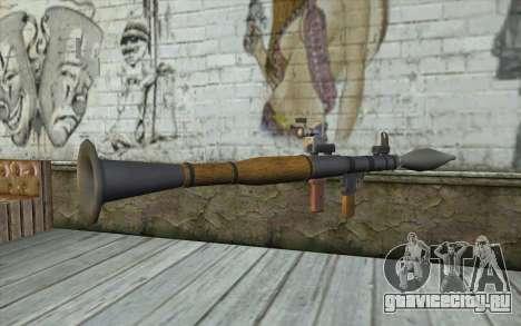 Ракетная Установка AG7 для GTA San Andreas второй скриншот