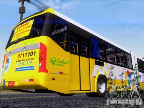 Прицеп Neobus Mega BRT Volvo B12-340M для GTA San Andreas