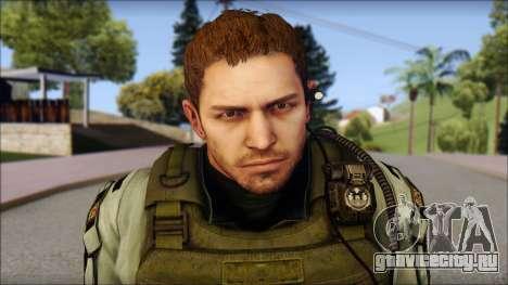 Chris Europa from Resident Evil 6 для GTA San Andreas третий скриншот