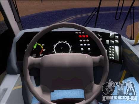 Neobus Mega BRT Volvo B12M-340M для GTA San Andreas вид снизу
