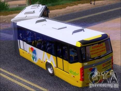 Прицеп Neobus Mega BRT Volvo B12-340M для GTA San Andreas вид сбоку