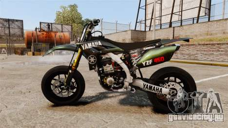 Yamaha YZF-450 v1.7 для GTA 4 вид слева