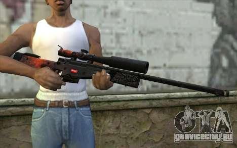 AWP (Space) для GTA San Andreas третий скриншот
