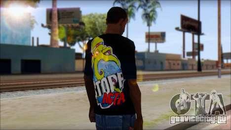 Anti ACTA T-Shirt для GTA San Andreas второй скриншот