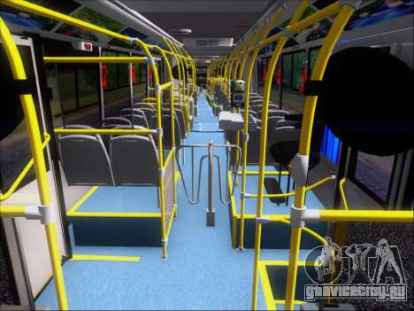 Прицеп Neobus Mega BRT Volvo B12-340M для GTA San Andreas двигатель