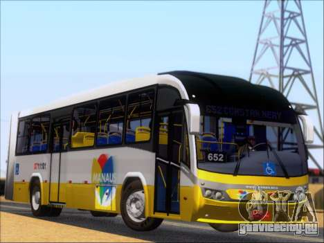 Neobus Mega BRT Volvo B12M-340M для GTA San Andreas вид сзади