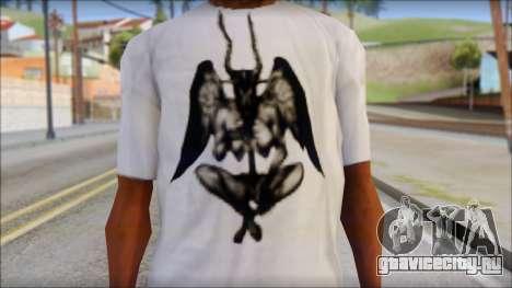 Silent Hill T-shirt для GTA San Andreas третий скриншот