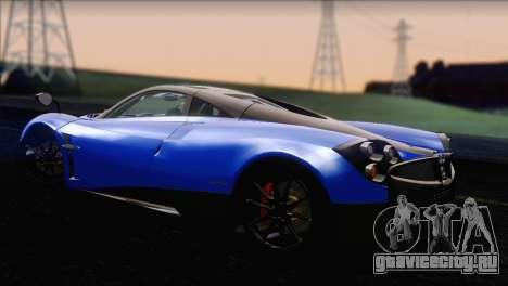Pagani Huayra 2012 для GTA San Andreas вид слева