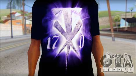 Wrestle Mania T-Shirt v1 для GTA San Andreas третий скриншот