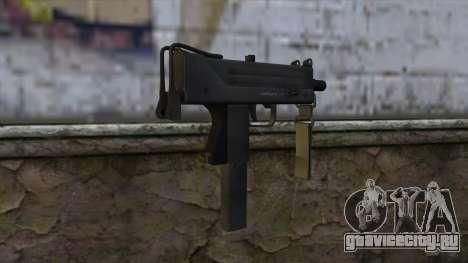 Mac-10 from CS:GO v2 для GTA San Andreas второй скриншот