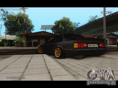 BMW e30 UDC для GTA San Andreas вид сзади слева