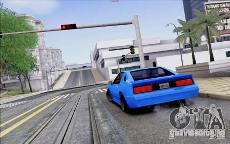 Buffalo Drift Style для GTA San Andreas вид сбоку