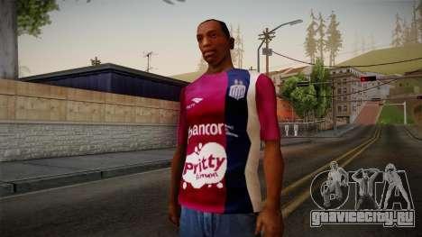 Talleres de Córdoba Shirt для GTA San Andreas