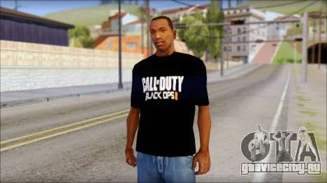 COD Black Ops 2 Fan T-Shirt для GTA San Andreas