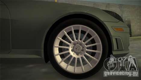 Mercedes-Benz SLK55 AMG для GTA Vice City вид сзади слева