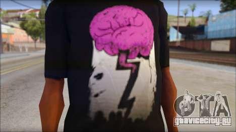 BrainoNimbus T-Shirt для GTA San Andreas третий скриншот