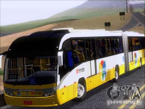 Neobus Mega BRT Volvo B12M-340M для GTA San Andreas вид слева
