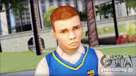 Petey from Bully Scholarship Edition для GTA San Andreas